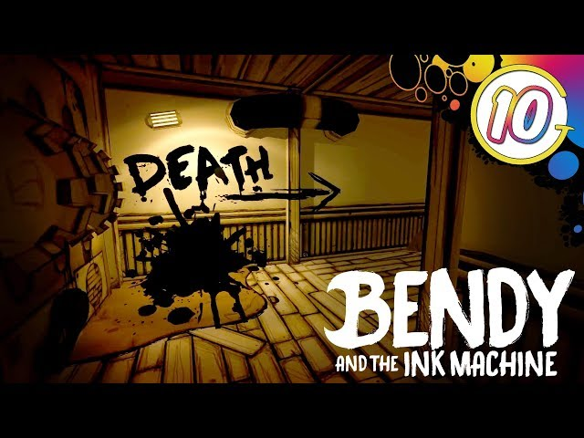 Run! Run! Run! Run! | Bendy and the Ink Machine Chapter 5 Part 3
