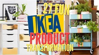 27 Fun IKEA Product transformation ideas Remake