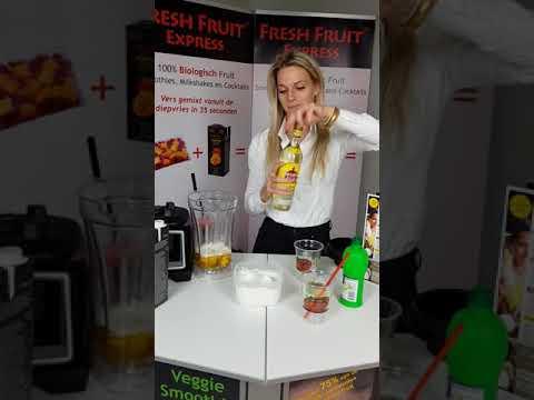 Fresh Fruit Express Preparation Cocktail Basic Blender English