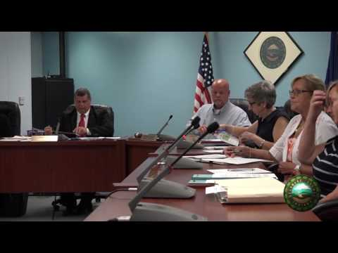 August 1st 2016 Commissioners Meeting
