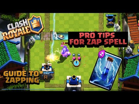 Clash Royale | How to Use Zap | Advanced Zap Guide | Tips &Tricks (India Game Play)