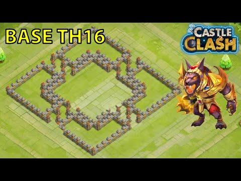 CASTLE CLASH-BASE TH 16