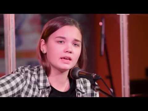 10 Papa Roach–No Matter What (Cover Acoustic) Первое выступление на сцене ученицы Школы Рока