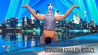 Este SAMURAI no es lo que parece… ¿Listo para REÍR?   Audiciones 1   Got Talent España 5 (2019)