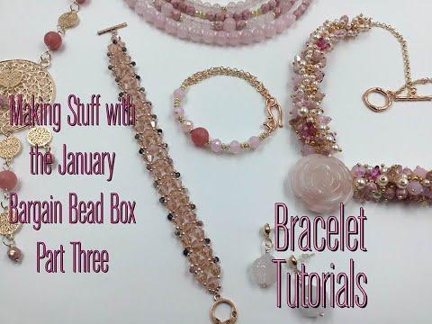 Making Stuff with The January 2021 Bargain Bead Box part three