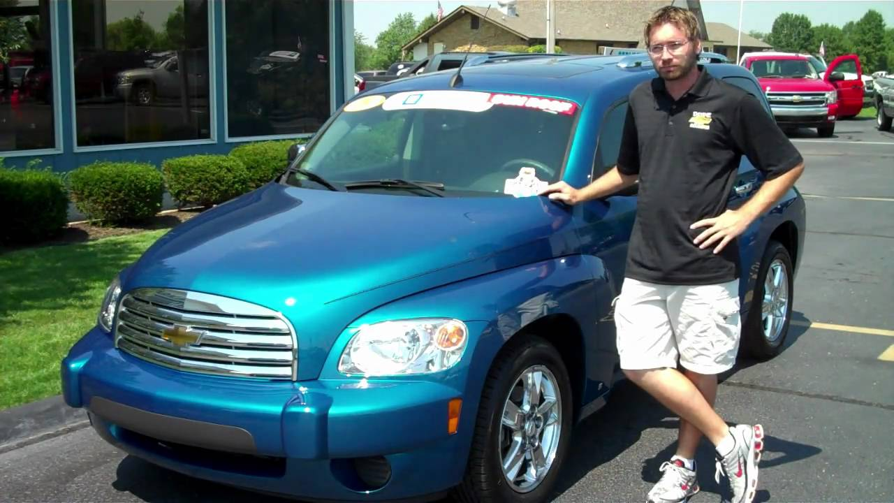 All Chevy blue chevy hhr : 2009 HHR LT at Devoe Chevy - YouTube