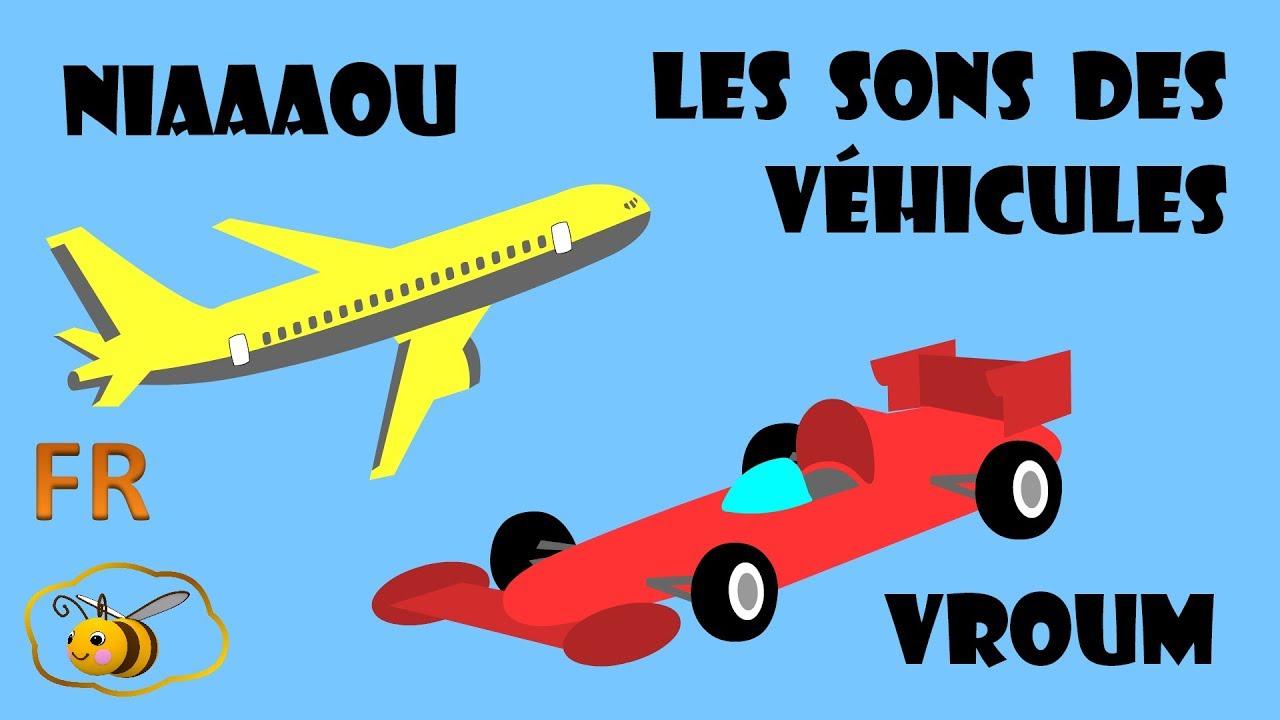 Dessins Animes Pour Les Bebes Les Sons Des Moyens De Transport