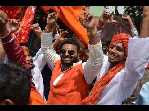 Akhil Pailwan Dance At Hanuman Jayanthi Rally 2018 | Folk Hyderabad Official