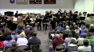 "Davis County Jazz Band performing ""Night Flower"" and ""Vamoose Your Caboose"""