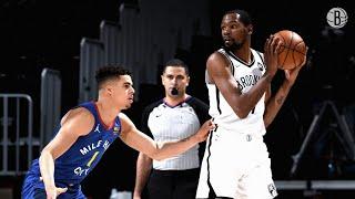 Kevin Durant's 33-Point Game vs. Denver Nuggets