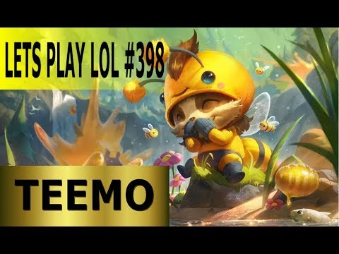 Teemo Top - Full Gameplay [Deutsch/German] Let's Play League of Legends #398 thumbnail