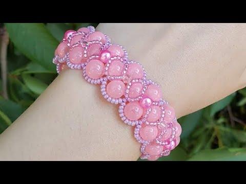 Beaded Bracelet/Easy Bracelet/Diy Bracelet/Браслет из бусин/Браслет из бисера/Как сделать браслет