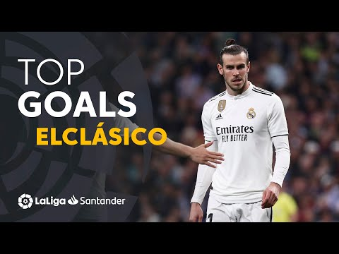 TOP 10 GOALS Real Madrid ElClásico 2009 - 2019