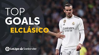 TOP Goles Real Madrid ElClásico 2009 - 2019