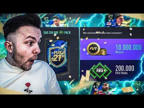 Das 200k FIFA POINTS TOTS PACK 🔥 MOD zieht meine Lightning Rounds 💸
