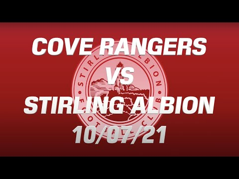Cove Rangers Stirling Goals And Highlights