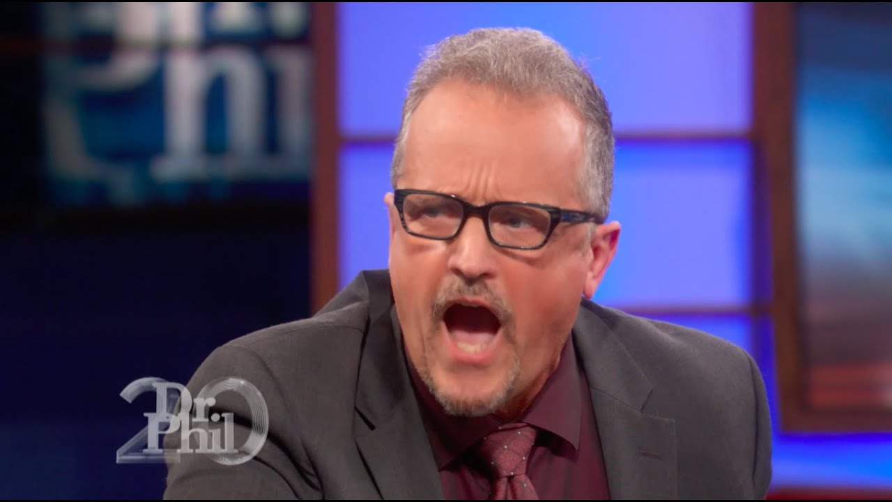 Dr. Phil Calls Out Man's Behavior