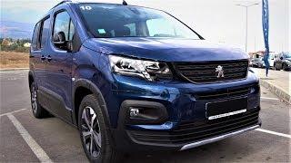 Peugeot Rifter GT Line 2019 Demonstration Interior Exterior Walkaround - Premium Test Drive Sofia