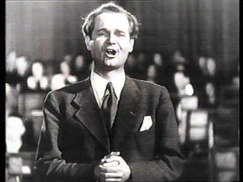 Musikstadt Berlin: Peter Anders, tenor - Berlin 1943  film Nacht ohne Abschied.