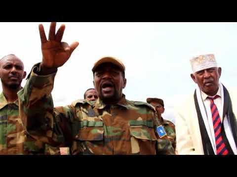 General Dayr Xaaji Abdi oo Buuhoodle Lagu soo Dhaweeye Kuna Dhawaaqay Musharax
