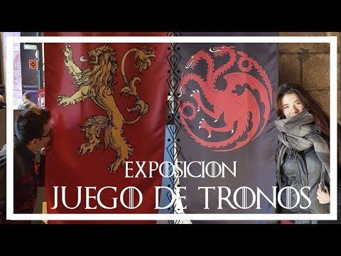 VLOG | Exposición JUEGO DE TRONOS BARCELONA Con MI CHICO 💘 The Touring Exhibition Game Of Thrones