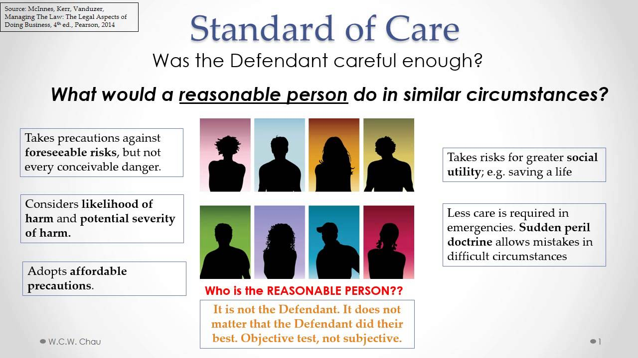 duty of care definitions essay Duty of care essay in any claim for negligence the claimant must show, inter alia, that the defendant owed him/her a duty of care the starting point is to look for an existing precedent to see if such a duty exists.