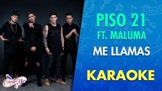 Piso 21 Me Llamas Feat. Maluma Karaoke CantoYo.mp3