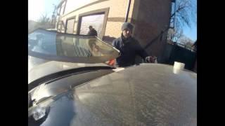 Установка стекла на Nissan Teana(, 2016-01-08T06:35:20.000Z)