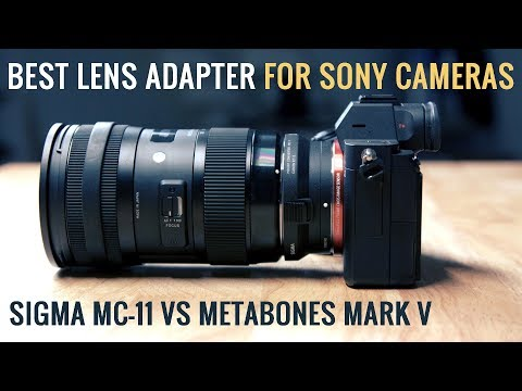 Sony A7iii + Sigma MC-11 Lens Adapter Review