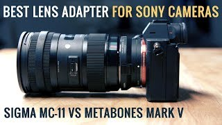 Sony A7iii + Sigma MC-11 Lens Adapter Review - Extremely affordable and better than Metabones?!