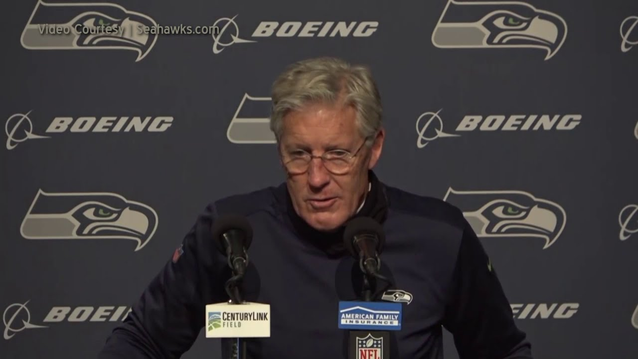Pete Carroll on Statement Game 2020-11-02