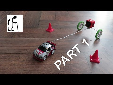 Atomix RC Micro Car Tear Down and Fix PART 1