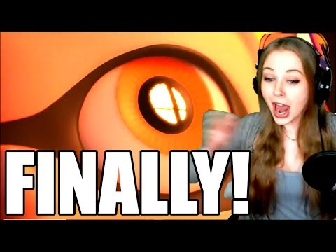SUPER SMASH BROS FOR SWITCH LIVE REACTION