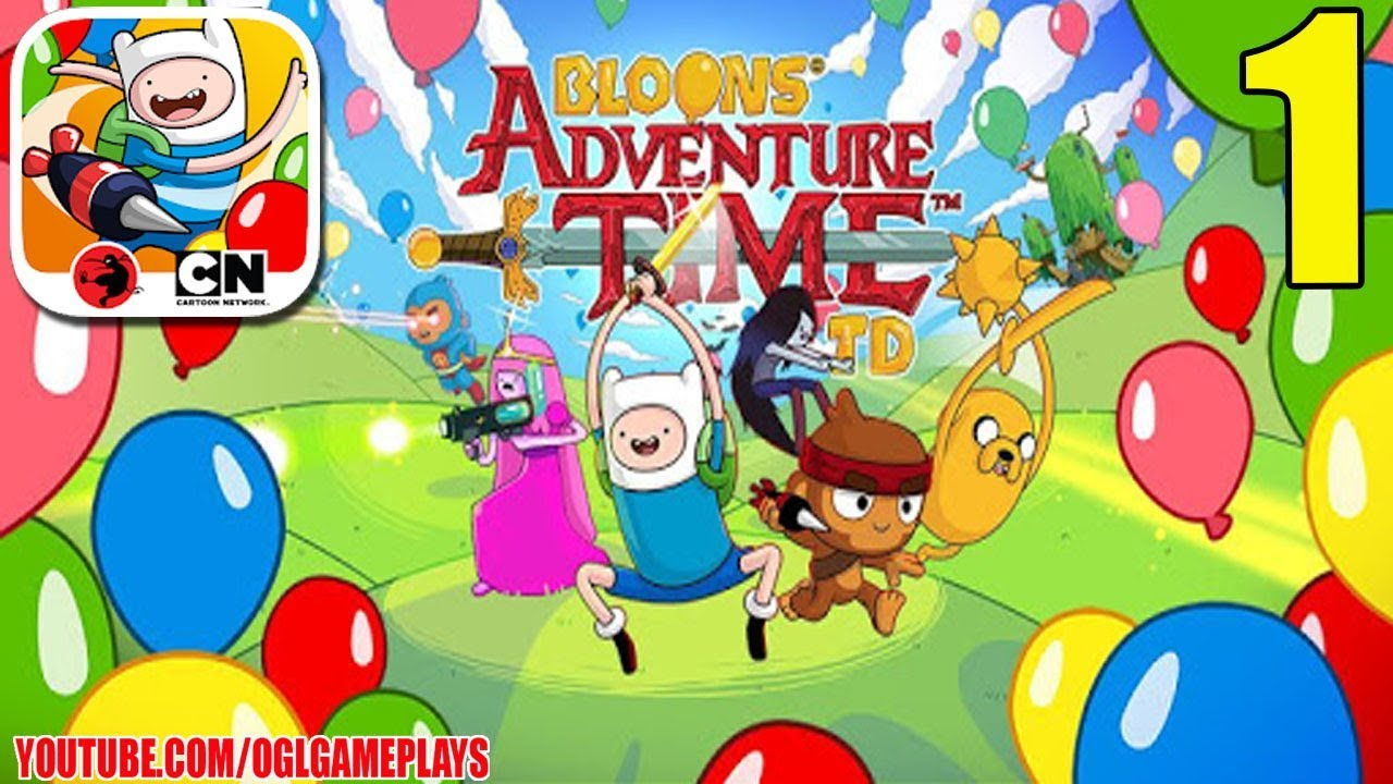 Bloons Adventure Time TD Walkthrough and Guide Part 1 to 2