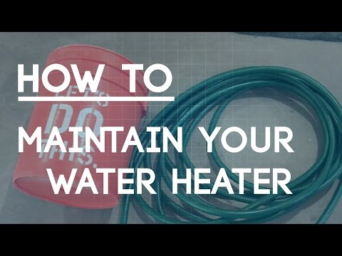 How to Drain a Hot Water Heater - Home Maintenance Tips