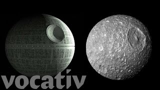 Video Saturn's Moon Looks Exactly Like The Death Star download MP3, 3GP, MP4, WEBM, AVI, FLV Agustus 2017