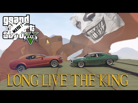 LONG LIVE THE KING! (GTA V MUSCLE DERBY)