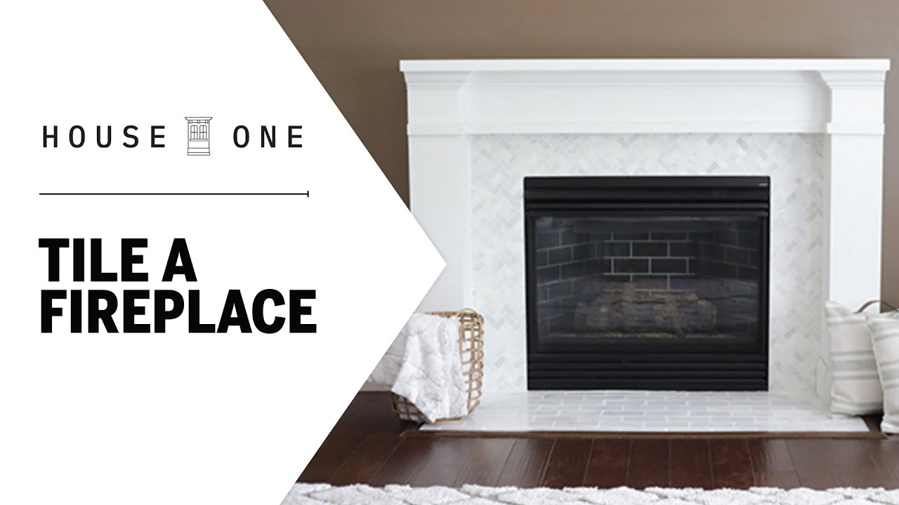 how to prep a fireplace for new tile