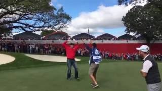 US fan challenged by McIlroy, Stenson, Rose and Sullivan by : Ryder Cup