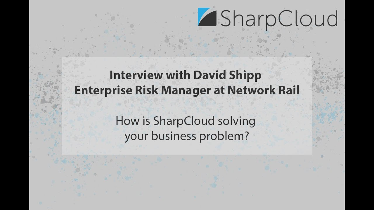 Interview with David Shipp, Enterprise Risk Manager at Network Rail
