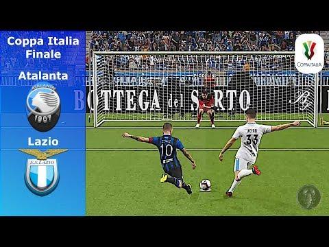 Atalanta Vs Lazio • Finale di Coppa Italia • Calci di Rigore • PES 2019 Patch [Giù]