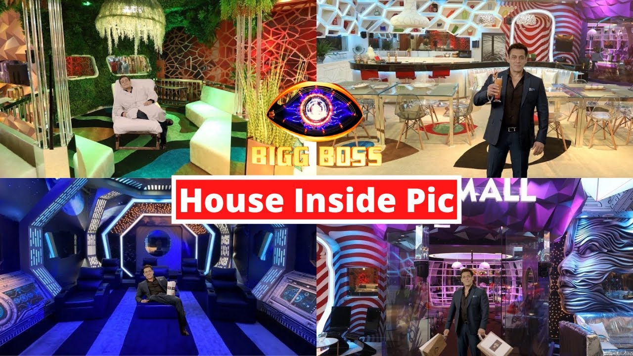 Bigg Boss 14 : BB 14 House Inside Pictures & Tour By Salman Khan - Bigg Boss 14 House Inside Look