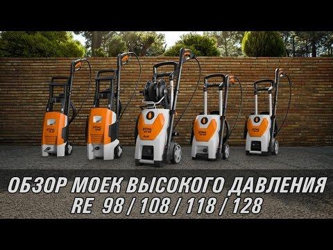 Видеообзор моек компактного класса RE 88/98/109/119/129 PLUS