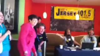 Pinky At The Diner Tour With Dennis And Judi