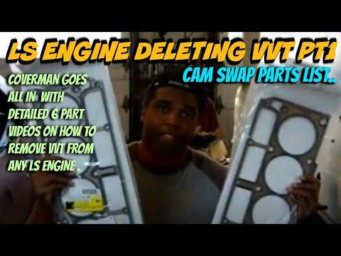 LS 6.0 deleting VVT  pt 1.. Parts needed to delete vvt to non-vvt LS engine