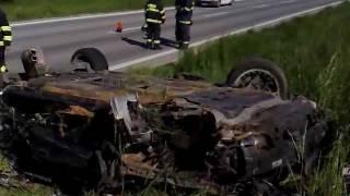 Live crash test Volvo S60