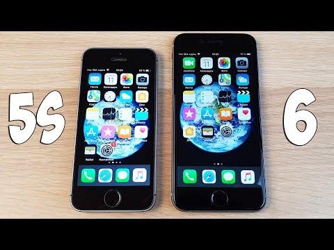 IPHONE 5S VS IPHONE 6 - ЧТО ВЫБРАТЬ? СРАВНЕНИЕ / ПЛЮСЫ И МИНУСЫ