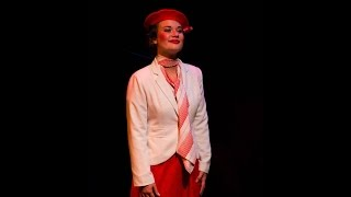 Macy Hohenleitner plays Sally Smith in the musical Me and My Girl. ...