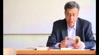 Abdon Ubidia, escritor ecuatoriano en la FAHU
