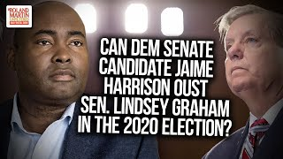 Can Dem Senate Candidate Jaime Harrison Oust Sen. Lindsey Graham In The 2020 Election? Democrat Jaime Harrison is challenging Republican Senator Lindsey Graham in South Carolina for his senate seat in the 2020 election. Harrison has raised ..., From YouTubeVideos